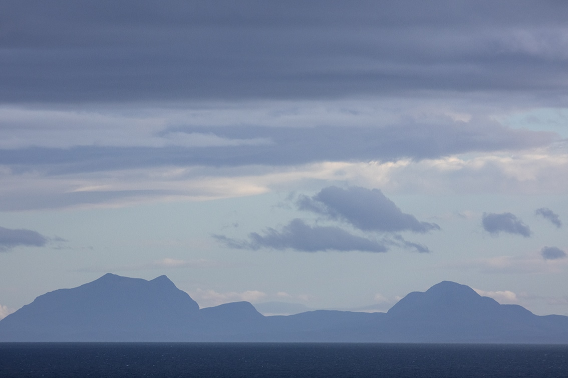 Scottish Mainland Mountain view from the croft