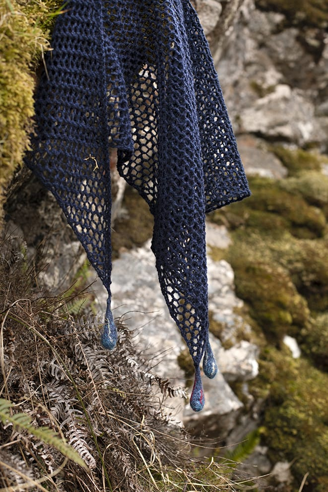 The Kelpie's Tears hand knitwear design by Alice Starmore