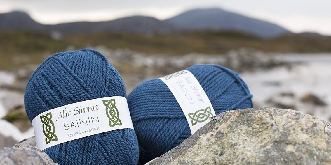 Alice Starmore Bainin hand knitting yarn