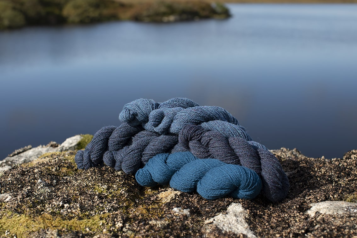 Alice Starmore 2 Ply Hebridean hand knitting yarn