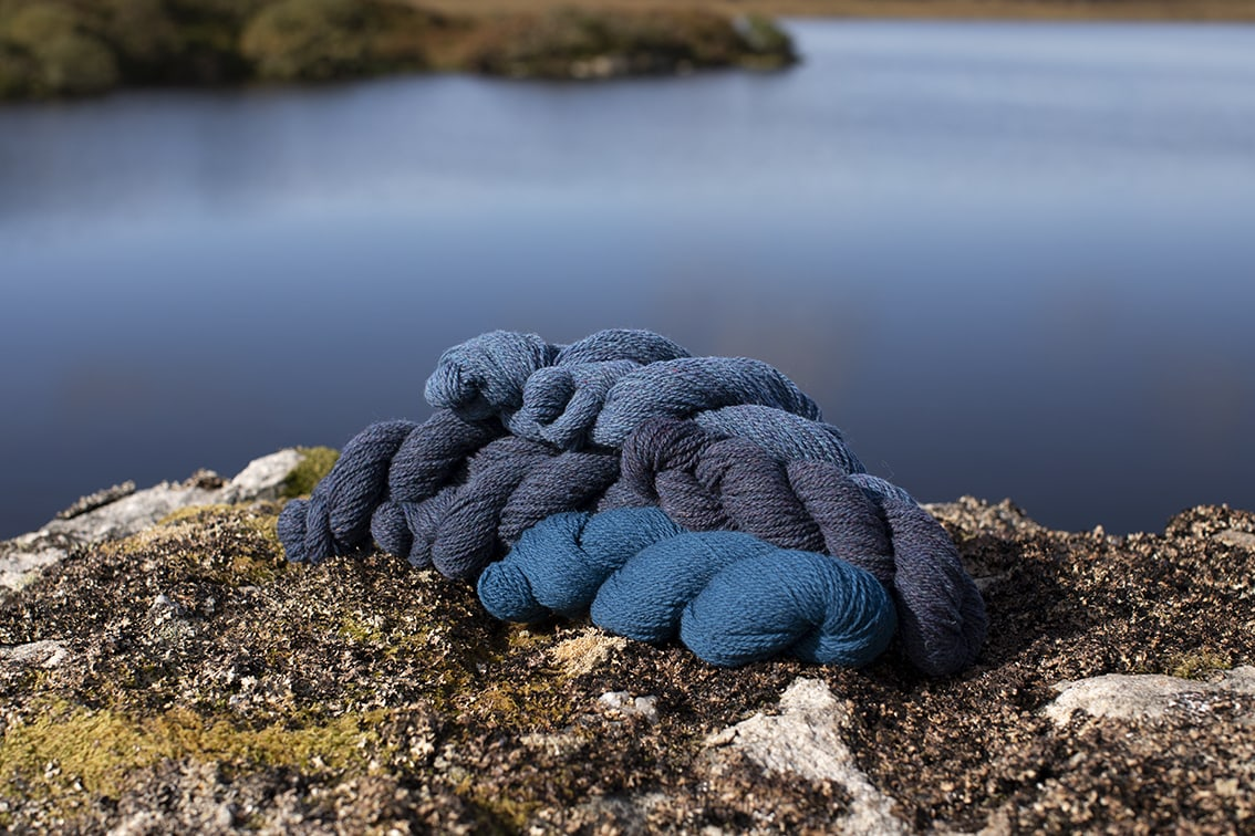 Alice Starmore 2 Ply Hebridean hand knitting yarn