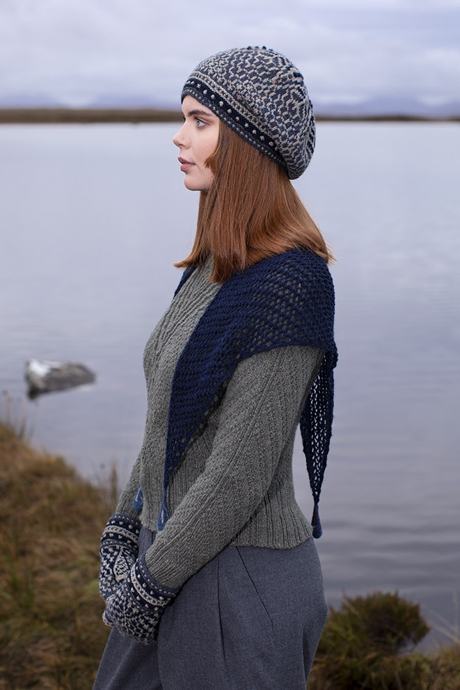 Kelpie's Tears, Staran & Briodag designs by Alice Starmore