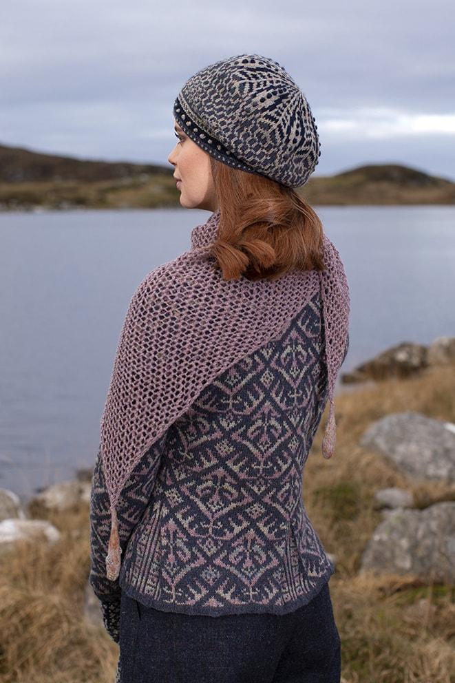 Kelpie's Tears, Elizabethan Jacket & Briodag designs by Alice & Jade Starmore