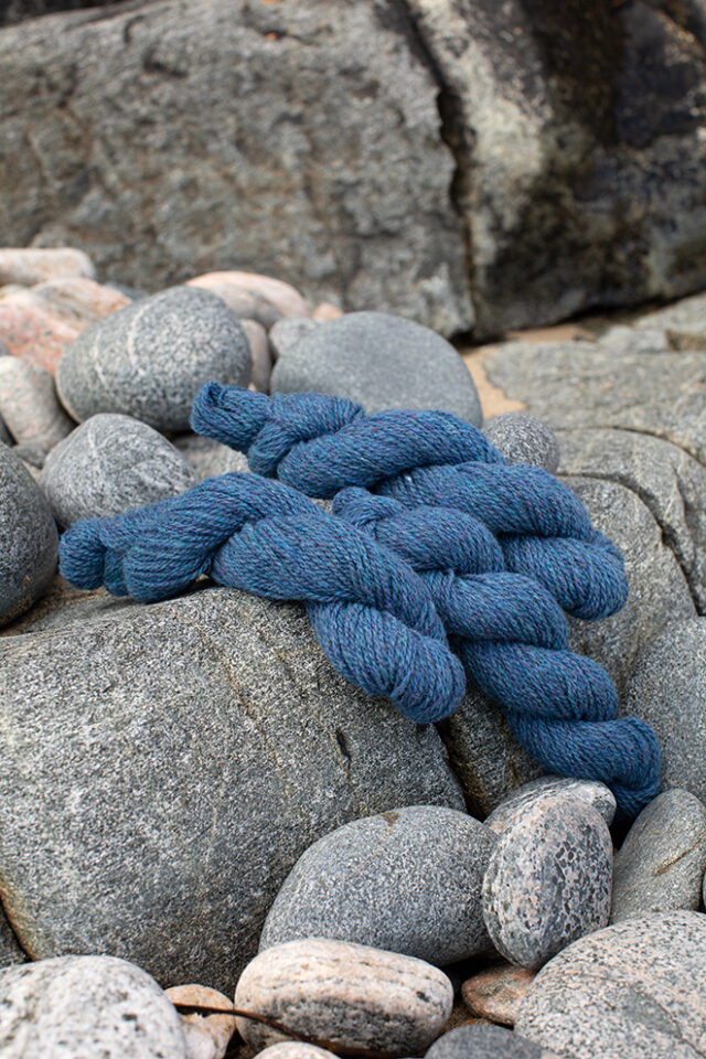 Alice Starmore 2 Ply Hebridean hand knitting yarn in Shearwater