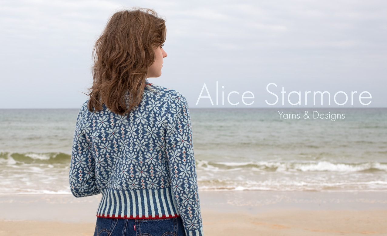 Alice Starmore Scottish Hand Knitwear Yarns and Designs